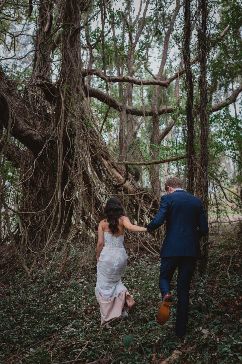 Peppers Ruffle Lodge, Gold Coast Wedding Destination Portraits - Sunshine, Brisbane, Australian Elopement Blog Photos