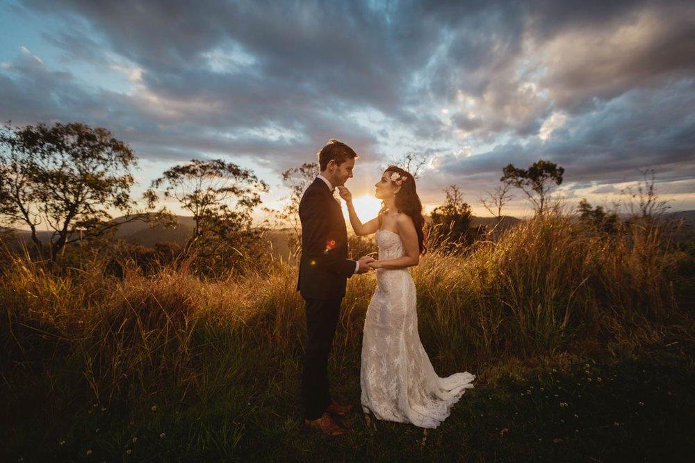 Romantic Wedding Photos, Best Sunshine Coast Blog - Brisbane, Gold, Australian Destination Elopement
