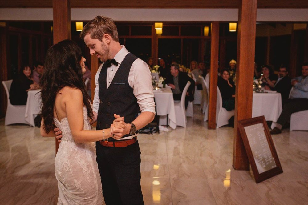 Peppers Ruffles Lodge and Spa First Dance, Gold Coast Reception Venue - Brisbane Sunshine, Australian Photographer