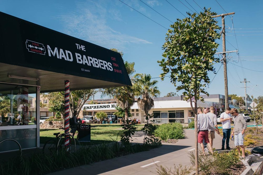 Mad Barbers, Mooloolaba Pre Wedding Photographers - Sunshine Coast, Brisbane, Australian Destination Blog Photos