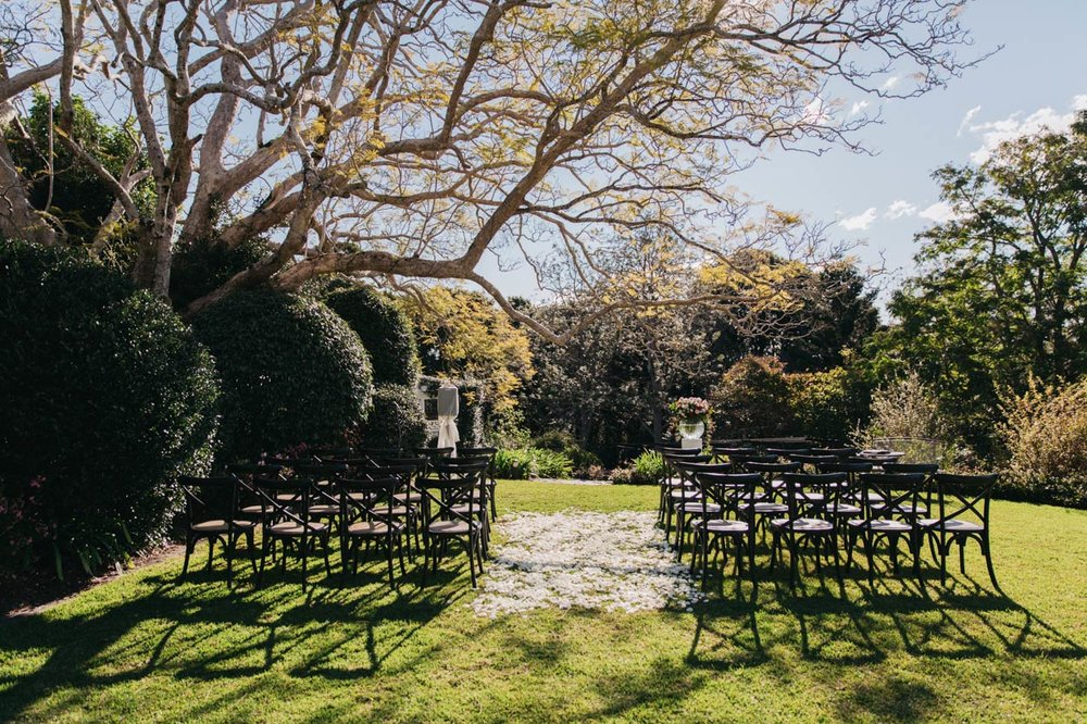 Ceremony Jacaranda Tree, Spicers Clovelly Estate - Sunshine Coast, Brisbane, Queensland Photographer