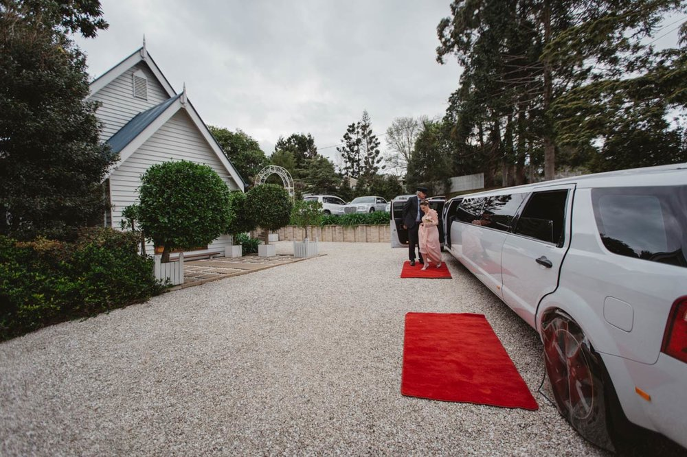 Little White Wedding Church, Maleny Limousine - Sunshine Coast, Brisbane, Australian Destination