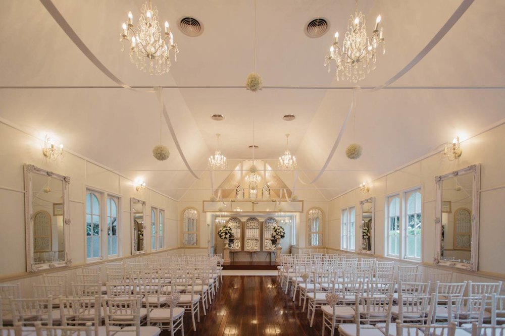 Beautiful Little White Wedding Church, Maleny - Brisbane, Sunshine Coast, Australian Photographer