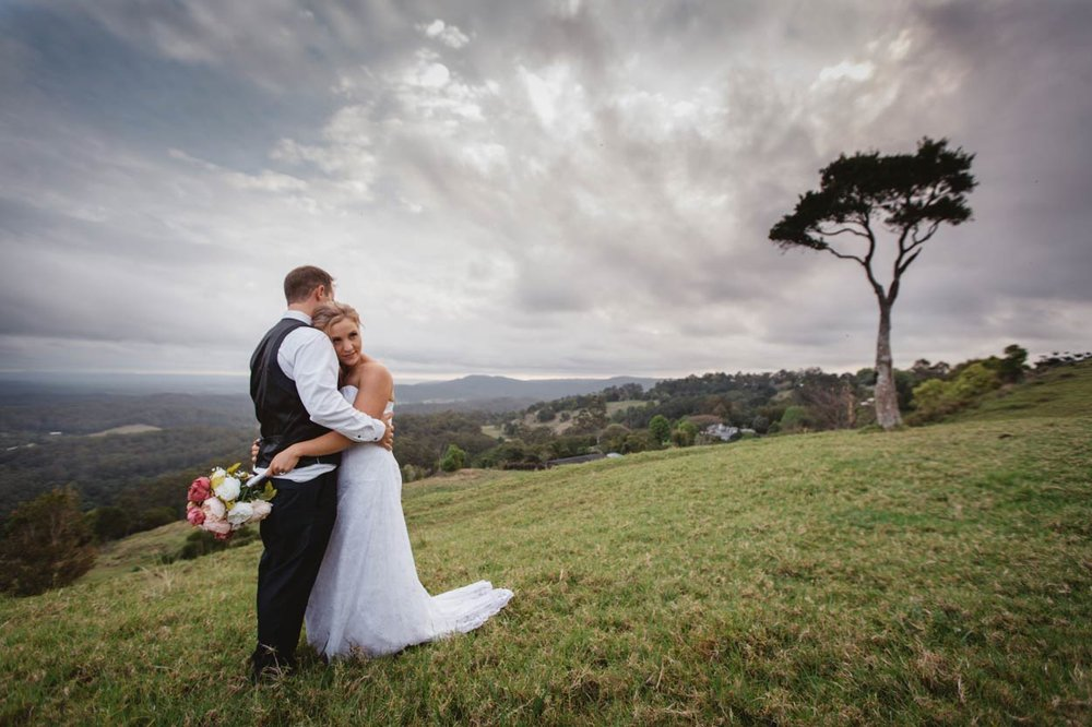 World's Best Sunshine Coast Hinterland Wedding Photographer - Brisbane, Australian Elopement