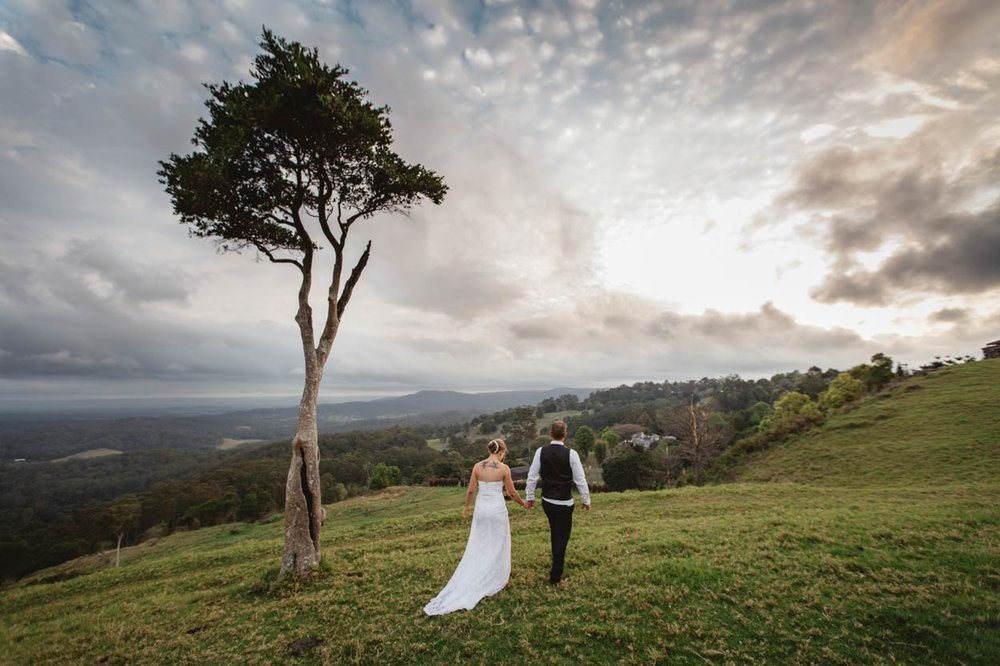 Romantic One Tree Hill, Maleny Destination Wedding Elopement Photographers - Australian, Sunshine Coast