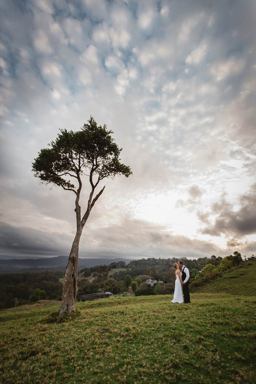One Tree Hill Wedding Portraits, Destination Wedding Photographers - Brisbane, Sunshine Coast, Australian