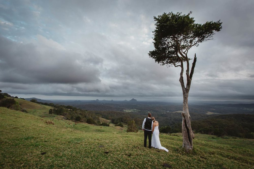 Maleny, Glasshouse Mountains Destination Wedding Photos - Brisbane, Sunshine Coast, Australian