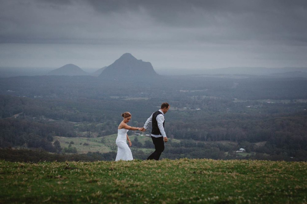 Peachester, Glasshouse Mountains Destination Wedding Photographer - Brisbane, Sunshine Coast, Australian