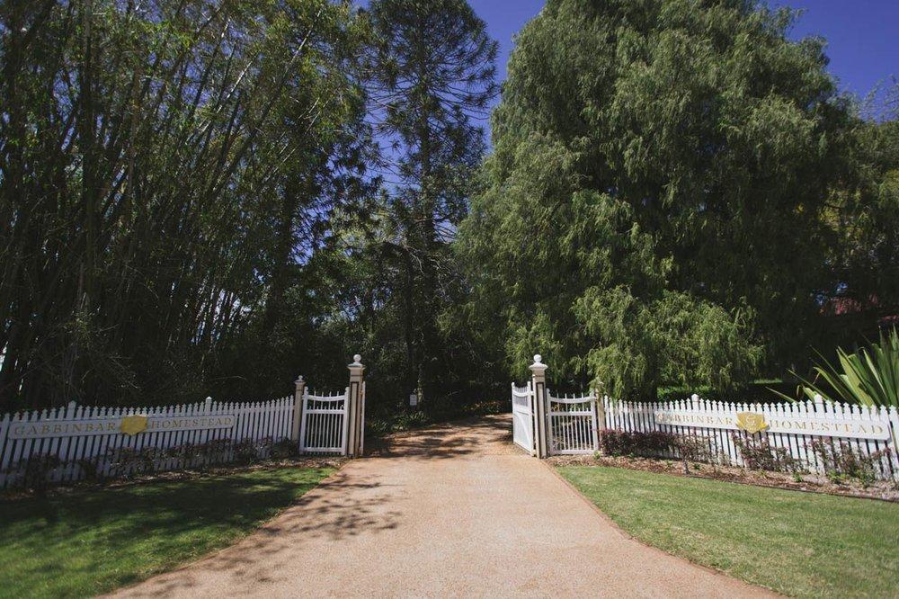 Gabbinbar Homestead Wedding Entrance, Montville - Brisbane, Australian Destination Photographer