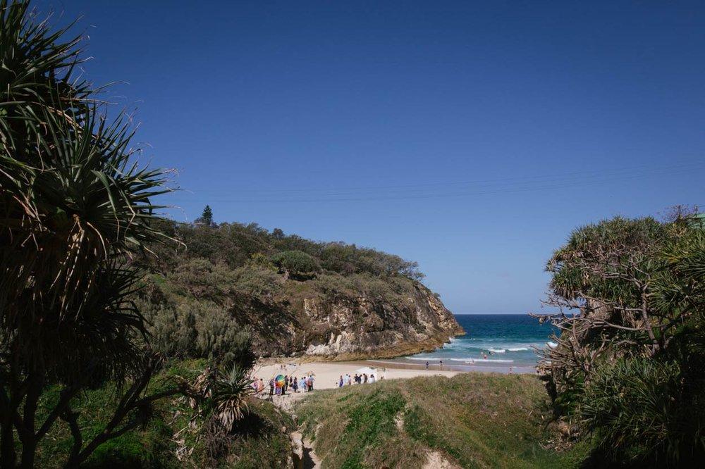 South Gorge, Point Lookout, Stradbroke Island Destination Wedding - Brisbane, Sunshine Coast, Australian