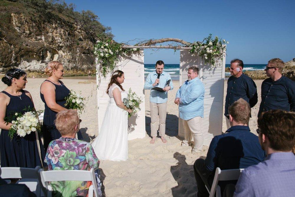 Amazing South Gorge, Stradbroke Island Eco Destination Wedding - Brisbane, Sunshine Coast, Australian