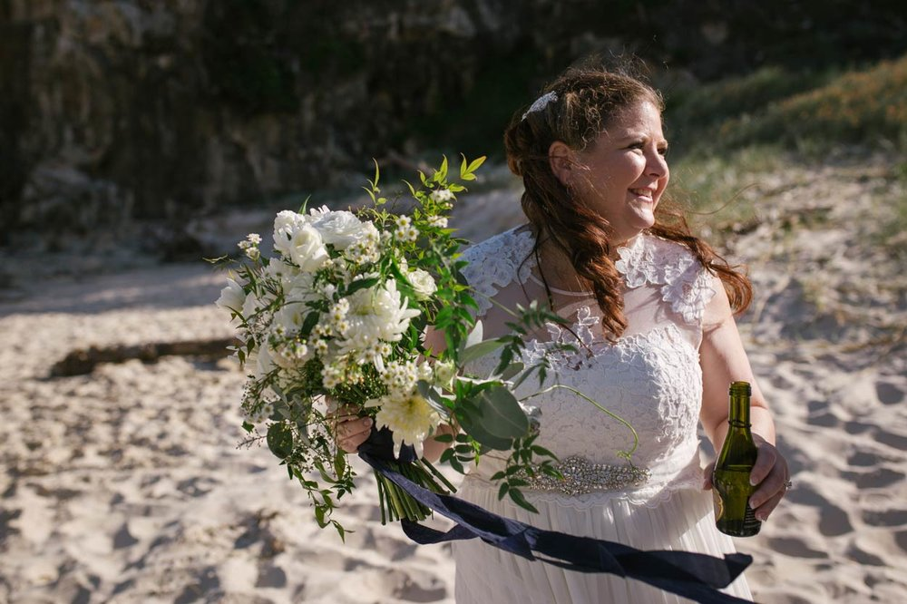 Stradbroke Beach Wedding Photographer, Sunshine Coast - Queensland, Australian Destination Blog Photos
