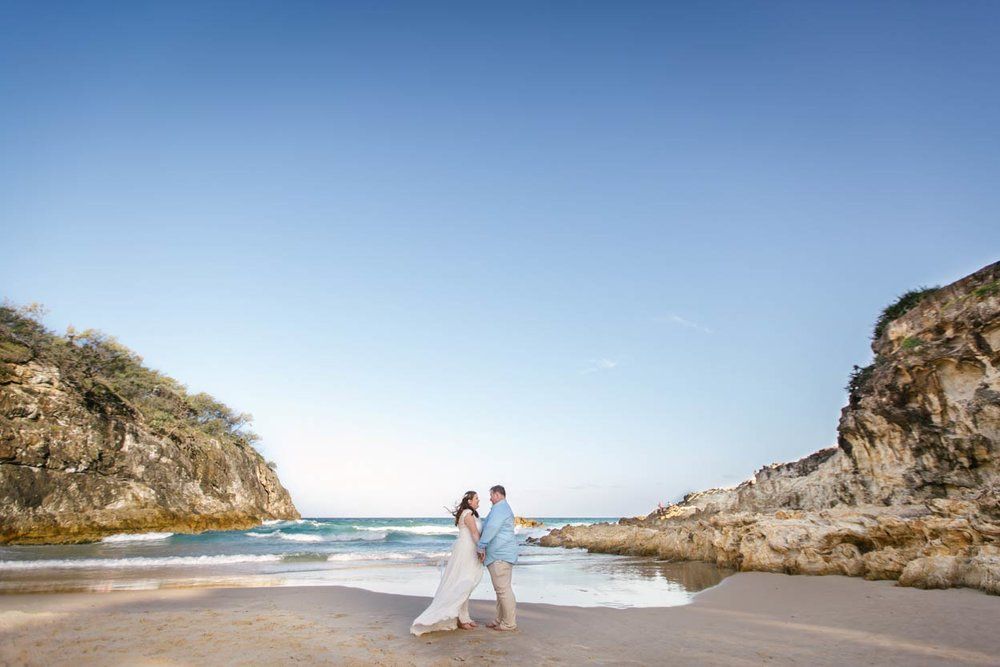 South Gorge, Stradbroke Island Destination Wedding Photographers - Brisbane, Sunshine Coast, Australian