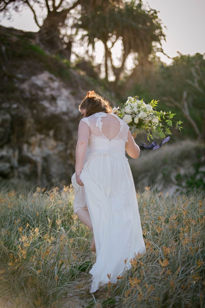 Stradbroke Island, Point Lookout Destination Wedding Portraits - Sunshine COast, Brisbane, Australian