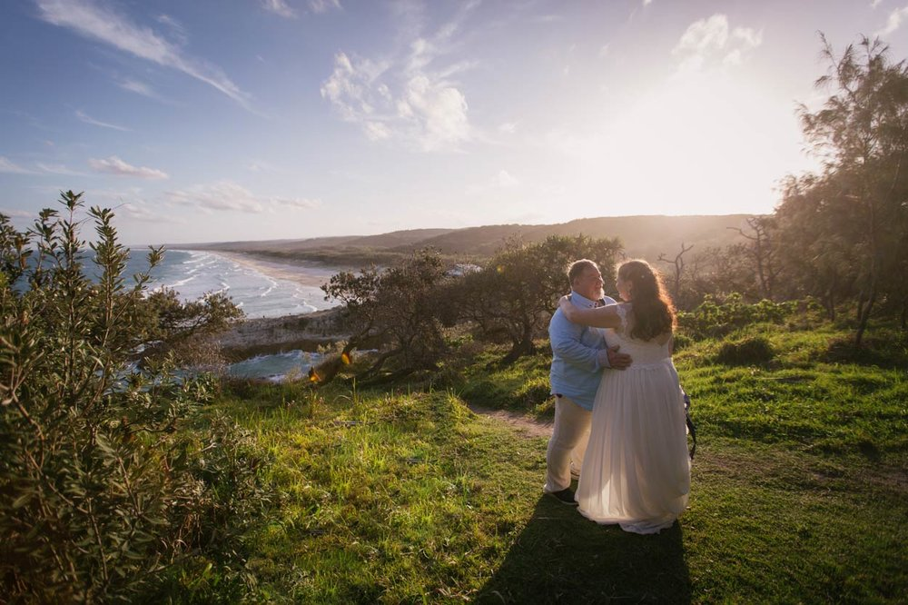 Stunning Stradbroke Island Wedding Portraits, Point Lookout - Brisbane, Sunshine Coast, Australian