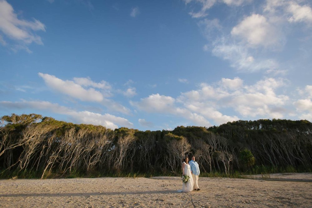 Point Lookout Beach Destination Wedding Blog Photographers - Brisbane, Sunshine COast, Australian