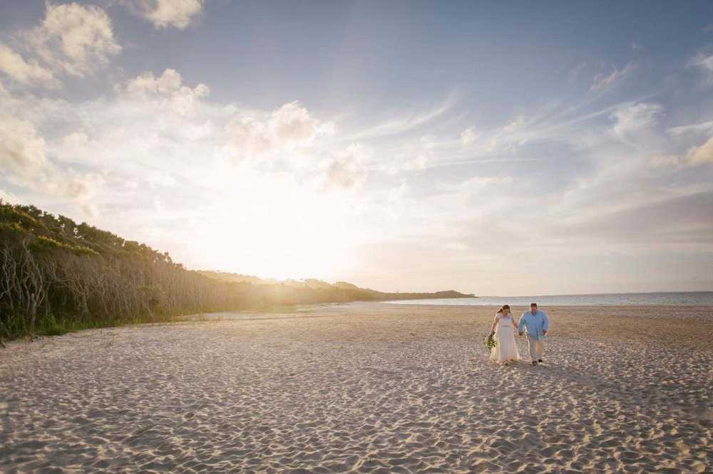 Top North Stradbroke Island Wedding Photographer Destination - Brisbane, Sunshine COast, Australian
