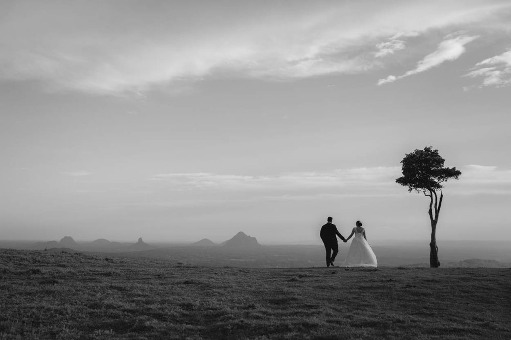 One Tree Hill, Maleny Destination Eco Wedding Photographers - Sunshine Coast, Brisbane, Australian