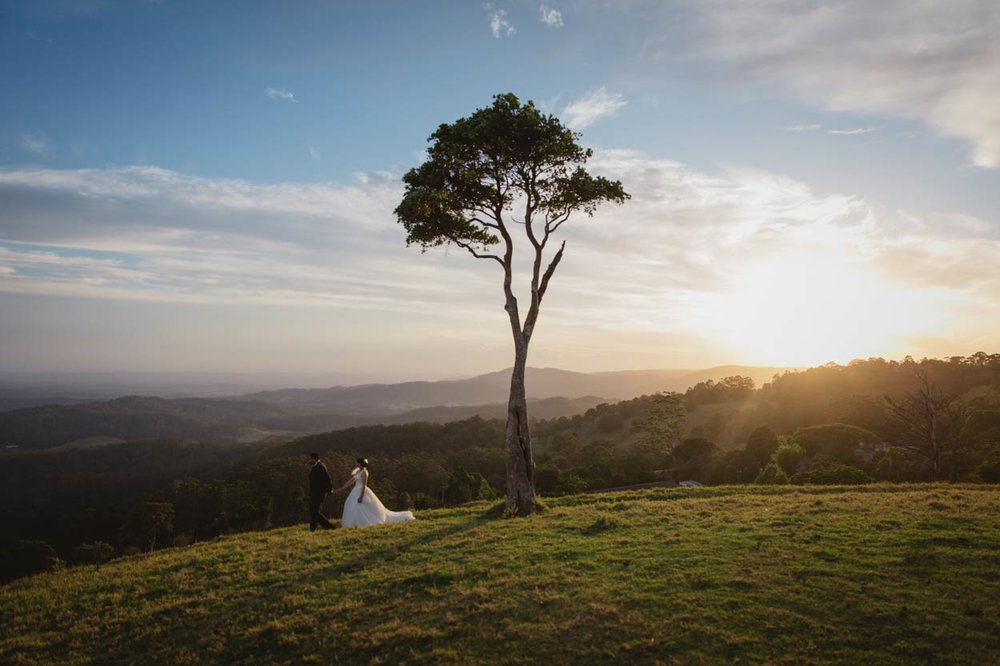 Luxury One Tree Hill, Maleny Destination Wedding Photographers - Sunshine Coast, Brisbane, Australian