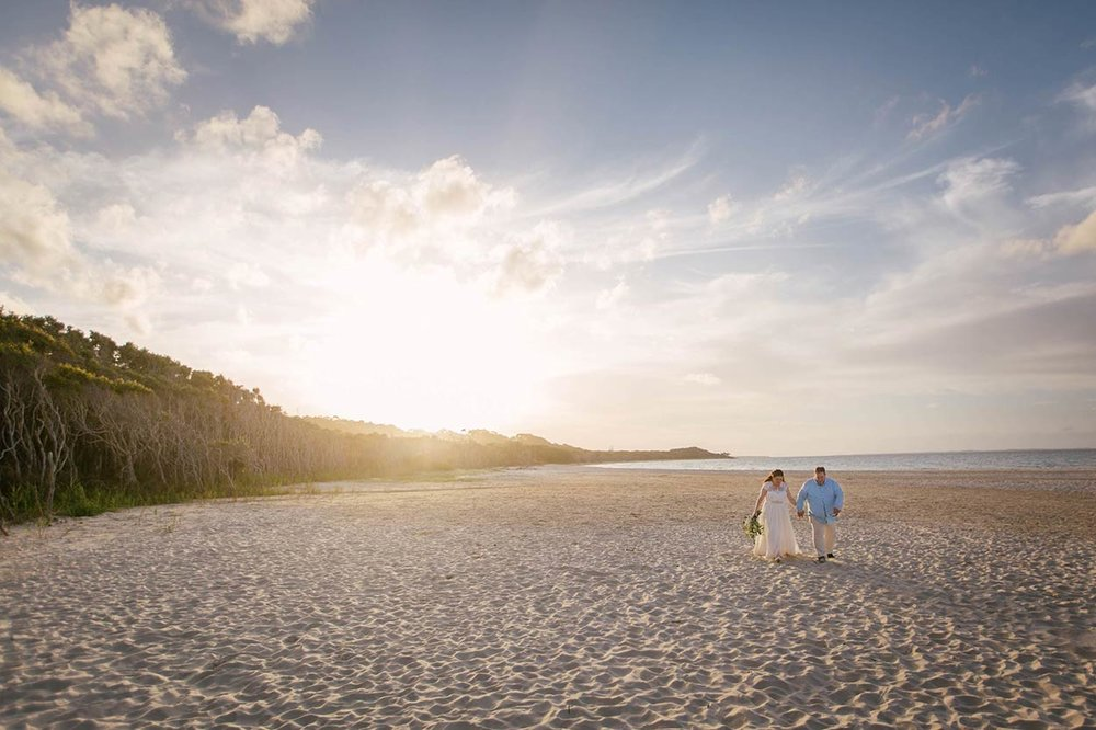 Stradbroke Island Boho Rustic Wedding Photographers - Brisbane, Sunshine Coast, Australian Destination