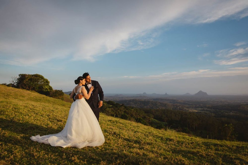 One Tree Hill, MalenyDestination Wedding Photographers, Sunshine Coast - Brisbane, Australian