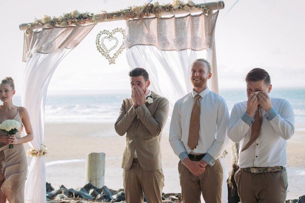 Sunset Beach, Fraser Island Destination Wedding Photographer -Sunshine Coast, Queensland, Australian