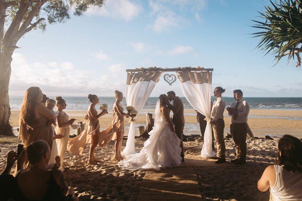 Best Fraser Island, Brisbane Wedding Destination Photographer Packages - Sunshine Coast, Australian