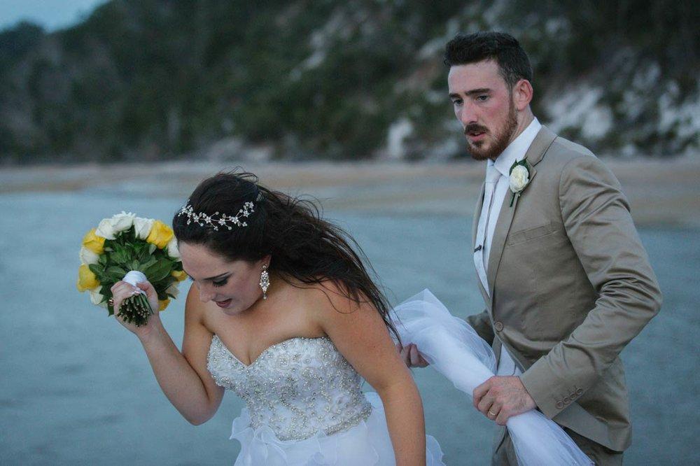 Kingfisher Bay Resort Pier, Fraser Island Wedding Photographer - Brisbane, Sunshine Coast, Australian