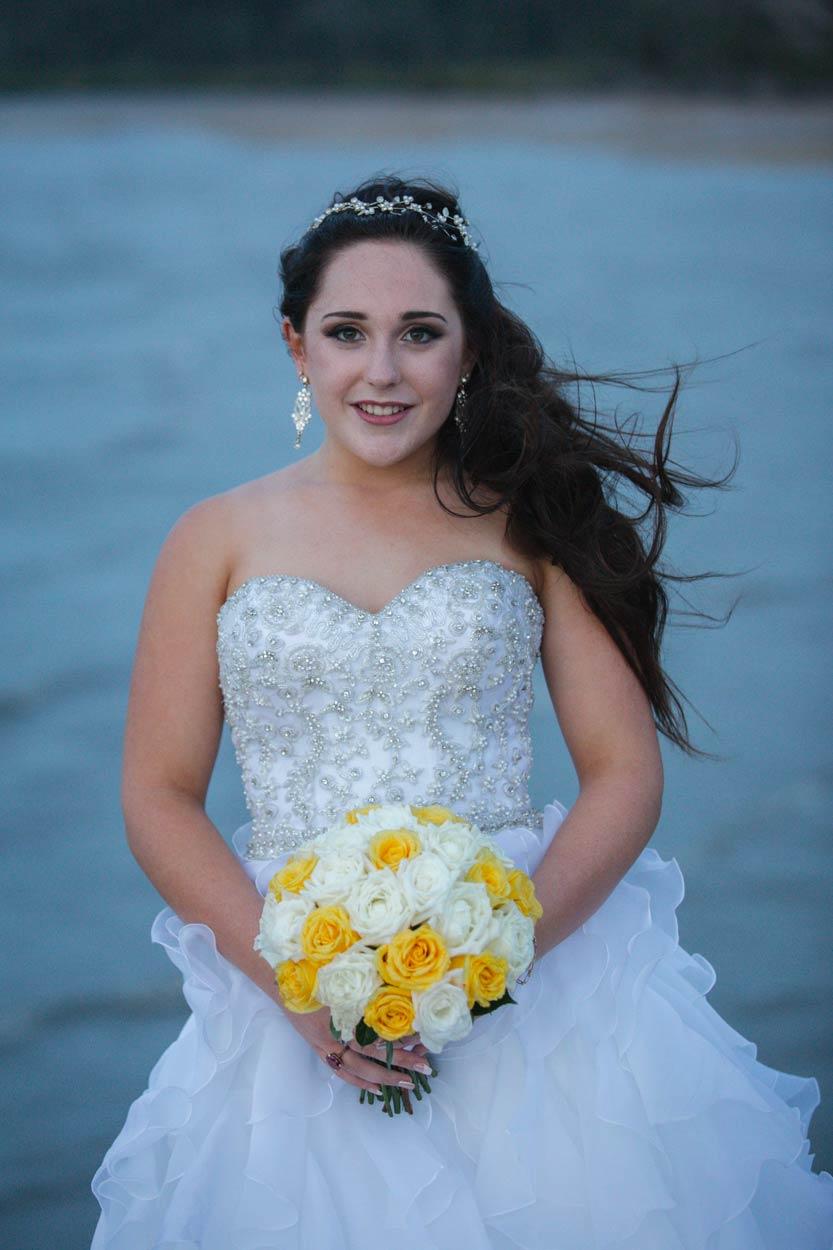 Sunset Beach Pier Portraits, Fraser Island Destination Wedding Photographer - Brisbane, Sunshine Coast, Australian