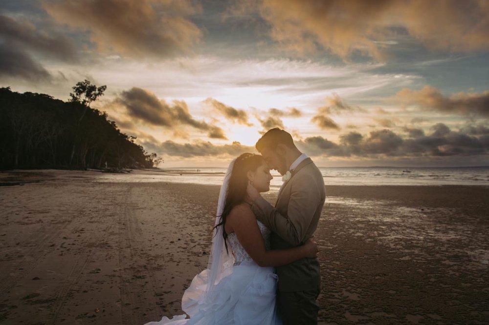 Kingfisher, Fraser Island Wedding Portraits, Sunshine Coast - Brisbane, Queensland, Australian Photographers