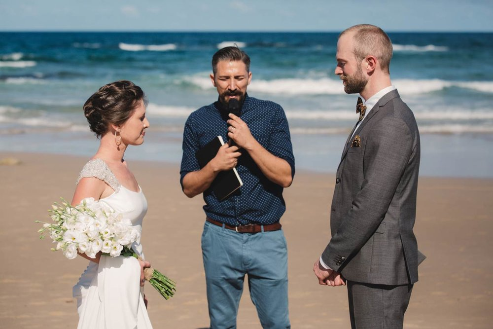 Best Marcoola Beach Pre Destination Wedding Elopement - Brisbane, Sunshine Coast, Australian