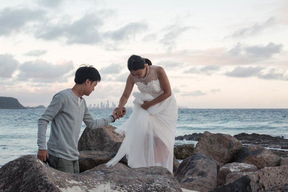 Currumbin, Gold & Sunshine Coast Wedding Photographer Destination - Brisbane, Queensland, Australian
