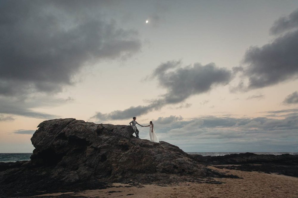 Gold & Sunshine Coast, Currumbin Wedding Photographer Destination - Brisbane, Queensland, Australian Blog