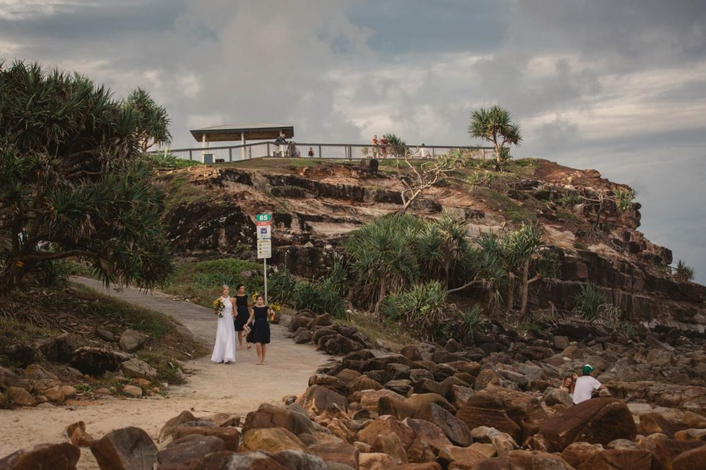Top Point Arkwright Destination Wedding Photographer - Best Brisbane, Sunshine, Australian Packages