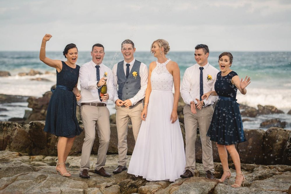 Point Arkwright, Queensland Destination Wedding Photographer - Brisbane, Sunshine Coast, Australian