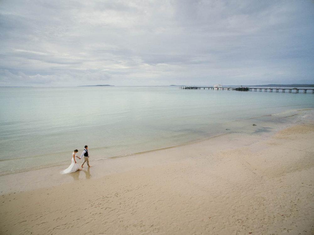 Creative Kingfisher Bay Resort Destination Wedding Photographers - Brisbane, Sunshine Coast, Australian
