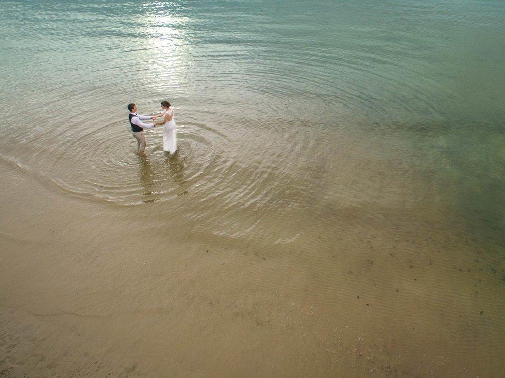Kingfisher Bay, Fraser Island Wedding Destination Eco Photographers - Brisbane, Sunshine Coast, Australian