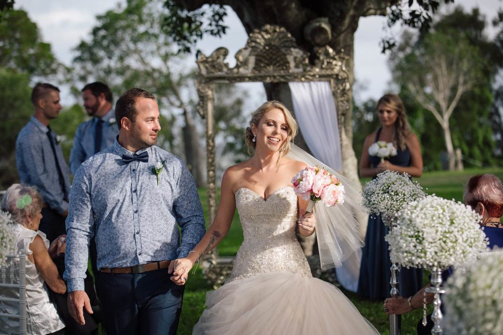 Maleny, Noosa Boho Wedding Bouquet Photographers - Brisbane, Sunshine Coast, Australian Destination