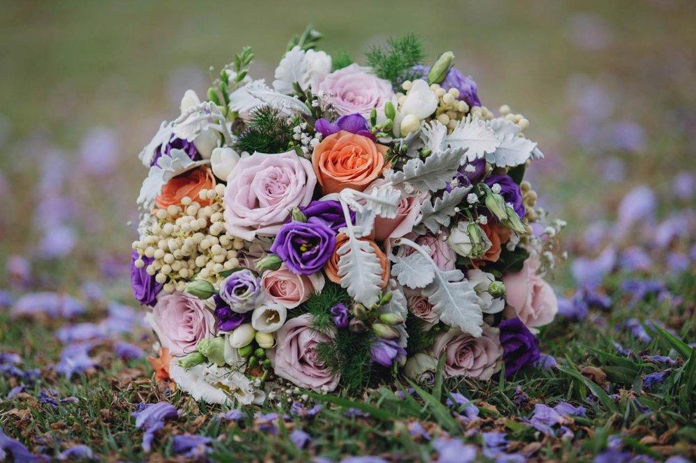 Noosa Pre Wedding Destination Photographer, Bouquet Portraits - Sunshine Coast, Queensland, Australian