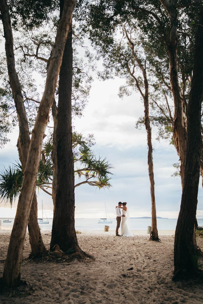 Kingfisher Bay, Fraser Island Wedding Destination Elopement Photographer - Sunshine Coast, Queensland, Australian