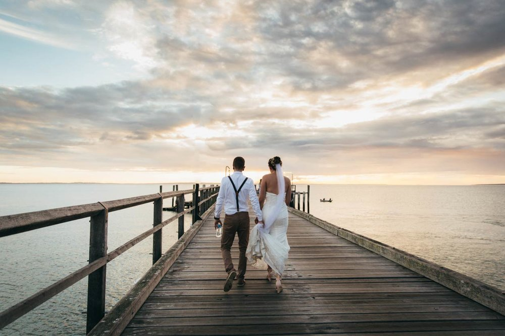 Best Fraser Island Pier Destination Wedding Photographers, Queensland - Brisbane, Sunshine Coast, Australian