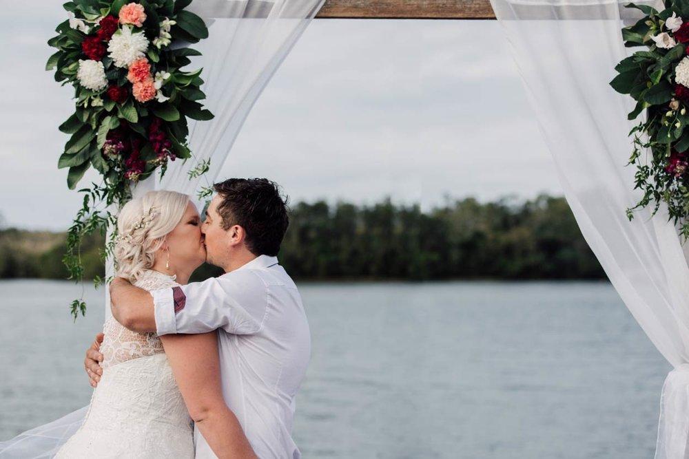 Creative Noosa River Destination Wedding Photographer - Brisbane, Sunshine Coast, Australian Elopement