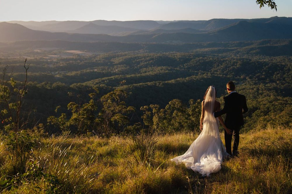 Modern Spicers Peak Lodge Destination Wedding Photographers - Gold & Sunshine Coast, Brisbane, Australian