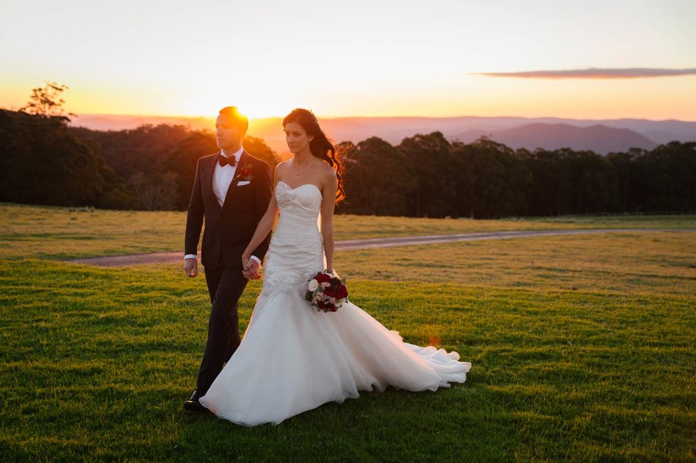 Beautiful Brisbane, Australian Destination Wedding Photographer - Spicers Peak Lodge, Sunshine Coast