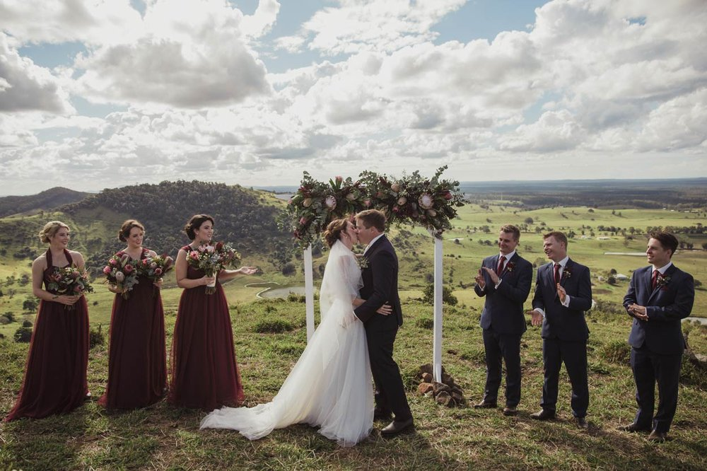 Best Brisbane, Queensland Destination Photographers - Gympie, Sunshine Coast, Australian Wedding Photos