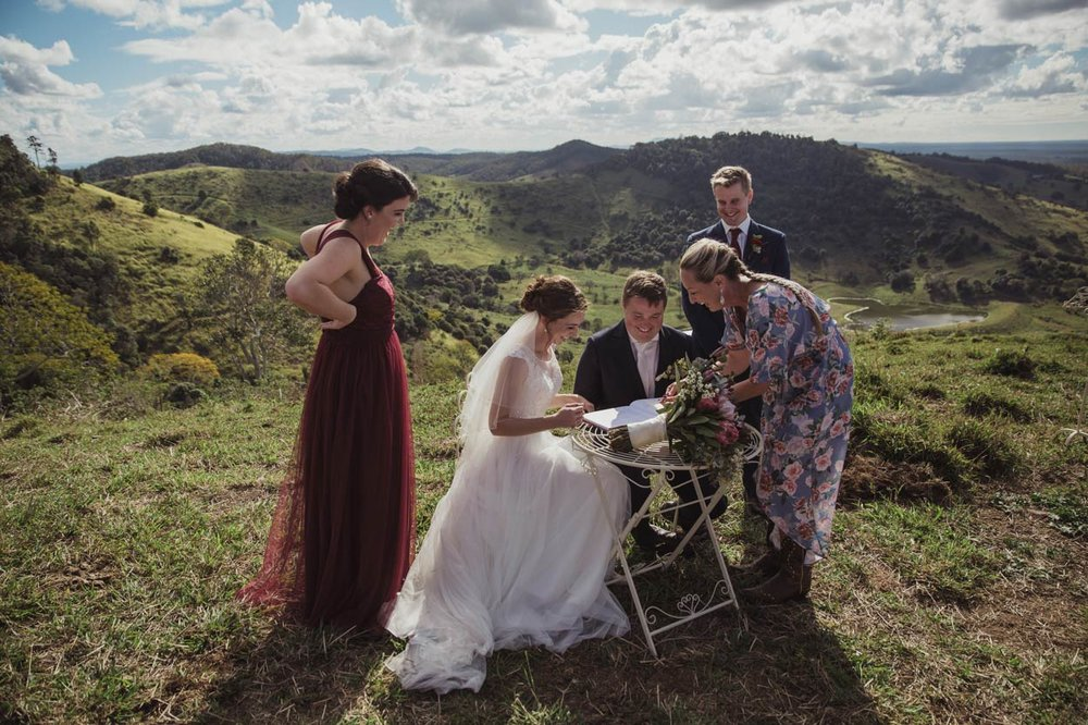 Maleny & Flaxton, Sunshine Coast Destination Wedding Photographers - Brisbane, Queensland, Australian