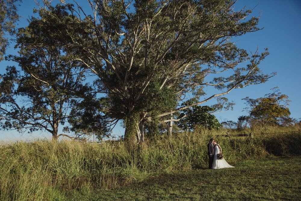 Classic Destination Wedding Portraits, Maleny - Brisbane, Sunshine Coast, Australian Elopement Photographer