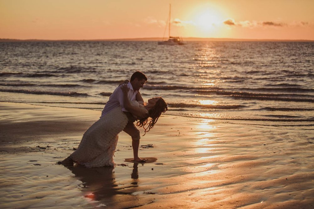 Top Brisbane, Queensland Destination Photographers - Noosa Beach, Sunshine Coast, Australian Wedding