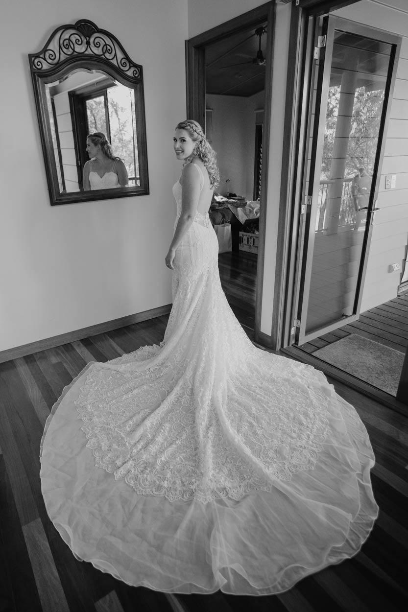 Montville, Sunshine Coast Bridal Wedding Portraits - Brisbane, Queensland, Australian Destination Photographers