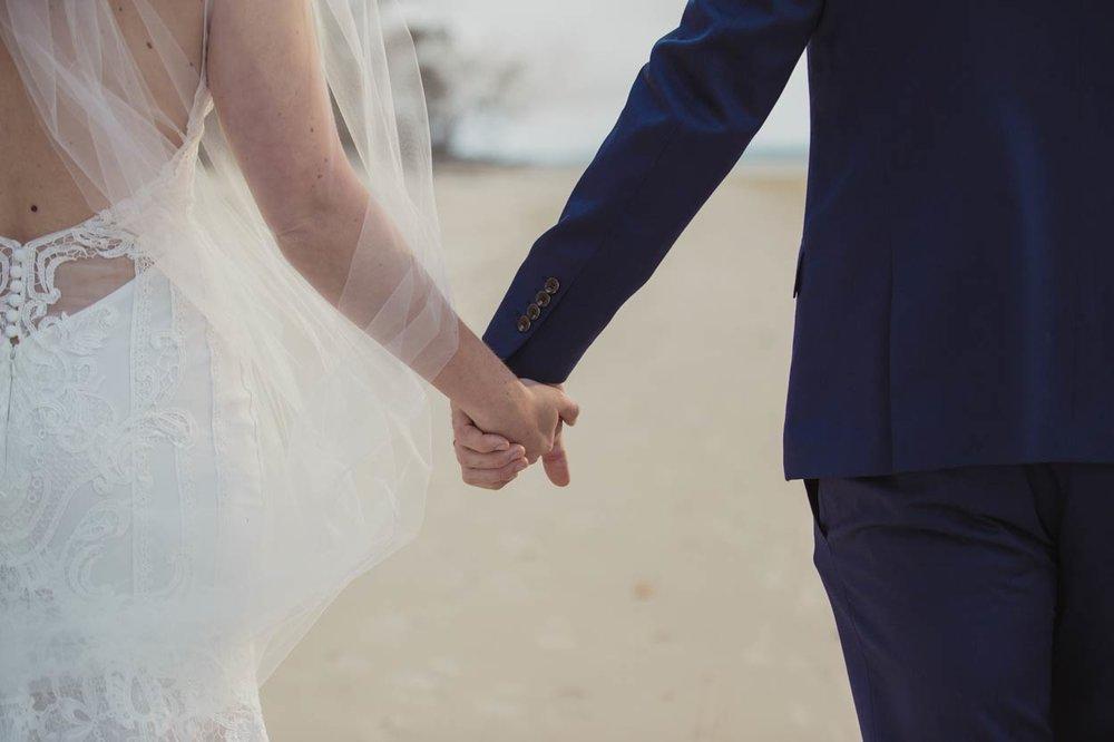 Noosa Main Beach Candid Wedding Photographer - Brisbane, Sunshine Coast, Australian Destination